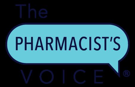 Kim Newlove The Pharmacists Voice Branding Logo